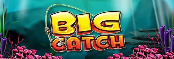 Игровой автомат Big Catch - рыбка, которая несет удачу и богатства
