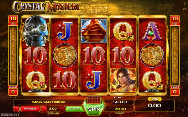 Игровой автомат Crystal Mystery - гарантированные выигрыши для игроков Сasino-X