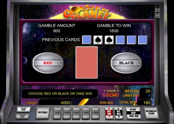 Игровой автомат Golden Planet - покори сокровища планеты в казино СуперСлотс