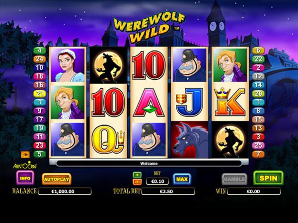Игровой автомат Werewolf Wild - приключения и большие выигрыши от Клуб Вулкан